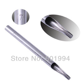 Wholesale High Quality F Stainless Steel Tattoo Tips for Needle Tube Machine Supply Tattoo amp Body Art