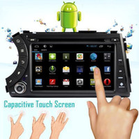 Wholesale Contex A9 Dual Core GHz Pure Android Car DVD GPS For Ssangyong Actyon Kyron With G WiFi OBD DVR