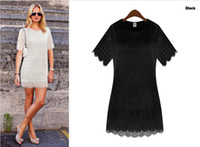Wholesale European Grand Prix women s free agent on behalf of overseas purchasing U S and European short sleeved lace dress