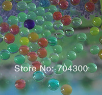 Wholesale Magic Plant Jelly crystal Soil Mud Water Pearl Beads Water absorbing crystal polymer soil moist MED Home decoration