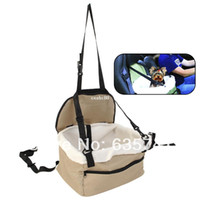 auto shipping carriers - Quality Pet Dog Puppy Cat Car Seat Booster Seat Carrier Car Auto Vehicle Leash