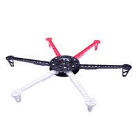 Cheap HJ600 6-axis Multi aircraft Quad-Rotor Multi RC Heli Flyer Frame wheel UFO 12987