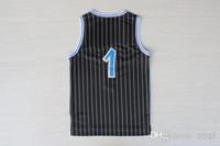Wholesale Top Quality Swingman Men s Magic Penny Hardaway Black Blue White Basketball Jerseys Embroidery Logo Mix Order