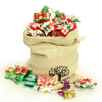Wholesale Christmas Bags Handmade Dog Grooming Accessory Ribbon Bows Pet Groomer Supplies Festival Party Boutique For Yorkie Shih Tzu