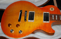 Wholesale Gary Moore Tribute Electric Guitar unplayed Nicely Flamed