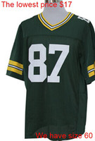 Wholesale Jordy Nelson new game elite mens womens youth kids jerseys mix order Name Logo Stitched AAAAA quality price