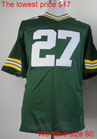 Wholesale Eddie Lacy new game elite mens womens youth kids jerseys mix order Name Logo Stitched AAAAA quality price