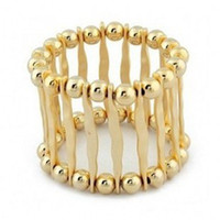 Cheap High Quality Real Gold Plated Fashion Statement Costume Bracelets Jewelry,Free Shipping BA03