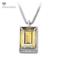 Cheap Free Shipping,High Quality The Queen Of Egypt Gold Filled Citrine Crystal Vintage Costume Jewelry