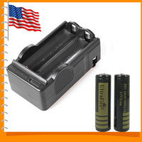 Wholesale US Warehouse UltraFire Protected mAh Battery Rechargeable Lithium Li ion Battery Battery Charger
