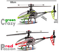 Cheap MJX F45 F645 70cm Big RC Remote Control Toys Helicopter 2.4G 4 Channel With Gyro Single-blade LCD Transmitter