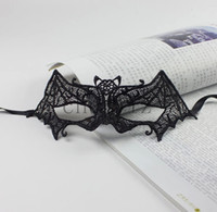 Wholesale Masquerade Mask Halloween Exquisite Lace Sexy Bat Venetian Masks C1327