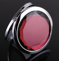 Wholesale Crystal Make Up Mirror Cosmetic Mirror Portable Mirror Each ID address can only buy two under orders not shipped more