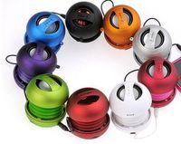 Wholesale X Mini II Capsule Speaker Outdoor Bluetooth X Mini Speakers Mini Speakers Diminutive Subwoofer Use For Phone PC Portable Hamburger Speakers