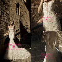 backless lace mermaid wedding dresses 2014 new Galia Lahav s...