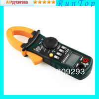 Cheap Freeshipping MASTECH MS2108A 4000 AC DC Current Clamp Meter Backlight Frq Cap CATIII vs FLUKE hol New