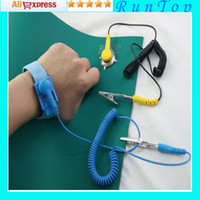 Wholesale freeshipping x Anti static ESD High Temperature Resistance Mat cm x cm Ground Wire ESD Wrist