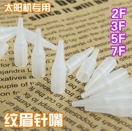 Wholesale of Permanent Makeup Nozzle Tips Sterilized R R R R F F F Assorted For Eyebrow Lip Tattooing Machine Series A1