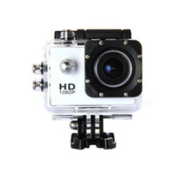 Wholesale Action Camera Full HD DVR Sport DV SJ4000 P Helmet Waterproof Camera inch G Senor Motor Mini DV Wide Angle