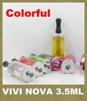 Cheap ViVi Nova 3.5ml ViVi Nova BDC Atomizer 510 long wick Atomizer DCT Tank For E Cigarette 2014 New Release Promotion Price AT052