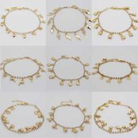 Cheap Women Lady Girl Silver Gold Tone Rhinestone Anklet Ankle Bracelet Foot Chain