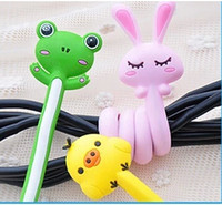 Wholesale 5 Kinds Of Animal Winder Cord Reel Digital Line Hubs Wire Coil Cable Manager Phone Pendant
