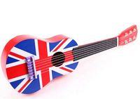 Wholesale US flag children guitar kids education toy