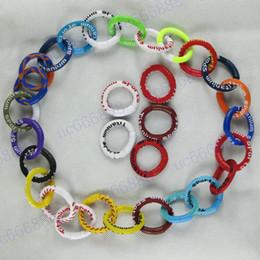 Wholesale - Baseball Softball Sports Titanium Tornado GT Necklace DIY Wrist Bands Bracelet necklace for everyone