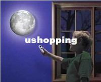 Cheap led remote control wall moon light home decor restroom bathroom bedroom reading wall lamp hotel lamp lights novelty item GZMDS19,fast shippi