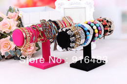 Wholesale Bracelet holder single tier bracelet holder necklace holder rack flower headband jewelry display