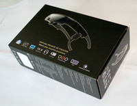 Wholesale 98inch D Video Glasses with VGA in for Computer Games AV in for PSP Xbox360 Cinema Eyewear Widescreen