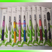 Cheap CE4 EGO KIT BLISTER PACK 1.6ml 2.4OHM Atomizer Electronic Cigarette 650 900 1100mah EGO serise colorful battery g5 e-cig