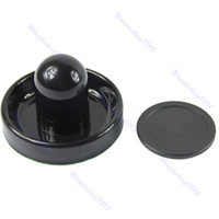 Wholesale 1pc mm Felt Pusher Air Hockey Table Mallet Goalies And pc mm Puck Black