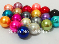 necklace chunky bead - mm Mixed Color Acrylic Pearl Beads For Chunky Kids Necklace