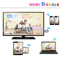 Cheap Ipush HDMI Wifi Display Receiver Support Miracast DLNA Airplay For Android IOS Windows Smart Devices Multi-screen Sharing high quality