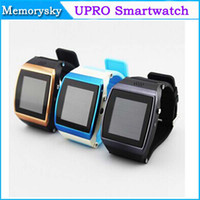 Wholesale U8 Pro Bluetooth Smart Watch SIM Slot Wristwatch Touch Screen Watch phone Camera FM for Smartphone