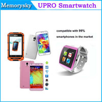 Wholesale U8 Pro Bluetooth Smart Watch SIM Slot Wristwatch Touch Screen Watch phone Camera FM for Smart Cell phone Android Phone