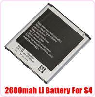 Wholesale High Quality V mAh Li Li ion Replacement Batteries For Samsung Galaxy S4 S SIV i9500 Battery DHL