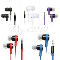 Precio de El bajo piso-Dulces colores 3.5mm Universal Metal auriculares In-Ear auriculares auriculares auriculares Cable plano MP3 MP4 celular Super Bass