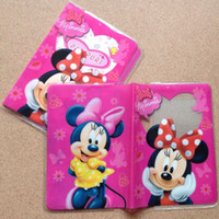 Wholesale 200pcs Minnie mouse passport holders passport covers Card holders