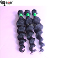 Wholesale Queen Hair Products cheap Mongolian Natural Color outre loose body wave Hair Curly braiding human hair or4pcs