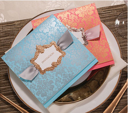 Wholesale NEW ARRIVAL CW052 fashion high quality Invitation Wedding Invitations come envelopes sealed card