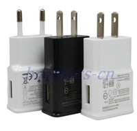 Wholesale EU US Plug V A Wall Charger AC Power Home Travel Charging Adapter for Samsung Galaxy S4 S5 i9600 S3 i9300 Note2 N7100 HTC Nokia Universal