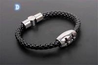 Wholesale HOT FASHION Men s bracelet infinity bracelets Men s accessories Braided leather bracelet