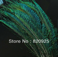 Wholesale 50 Natural Color Peacock Sword Feathers cm cm for Craft Project
