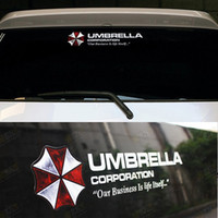 Wholesale 2014 Car Reflective Vinyl Adhesive Stickers With Funny Decal Resident Evil Umbrella For Auto Decoration The Whole Body styling