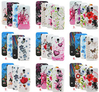Cheap Flower Printed Soft Silicone Gel Phone Case Cover for samsung galaxy note note2 note3 note3 neo N7100 N9000 galaxy mega 5.8 mega 6.3