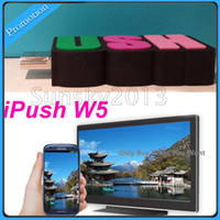 Cheap Quality iPush W5 DLNA TV Built-in WiFi Airplay Dongle 150M 1080P Output Receiver for Android IOS Windows Smart Devices Multi-screen Sharing