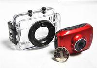 Wholesale 720P HD Extreme Sports DVR Helmet Waterproof Camera HD Action Camera Sport Outdoor mini Camcorder DV hot digital video cameras free DHL