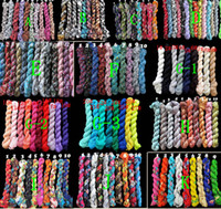 Wholesale 100pcs Fashion Ladies Crinkled Scarf Wrap cm Mix Styles and Colors
